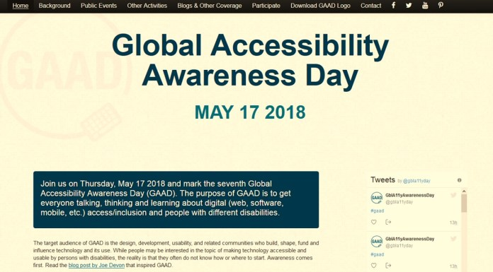 What Were You Capable Of During Global Accessibility Awareness Day?