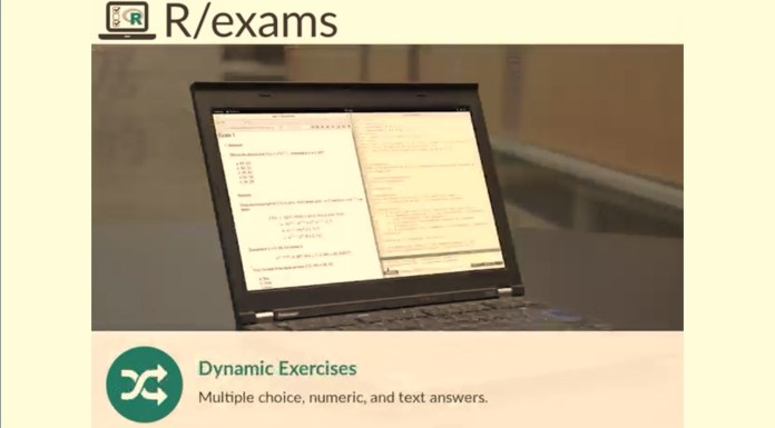Get Started With R/Exams And Dynamic Data Science Teaching In Moodle