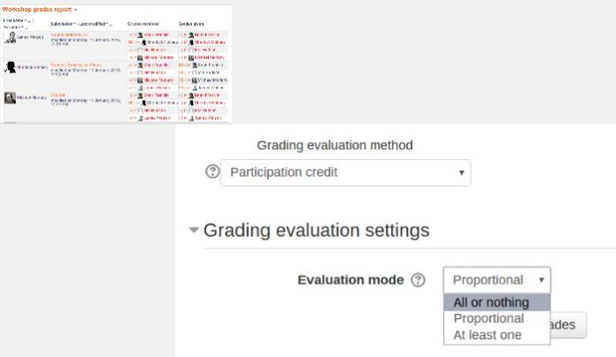 How To Give Automatic Marking To Peer Assessment In A Moodle Workshop With Participation Credit Plugin