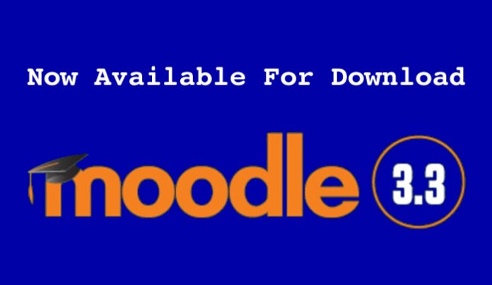 Moodle 3.3 release