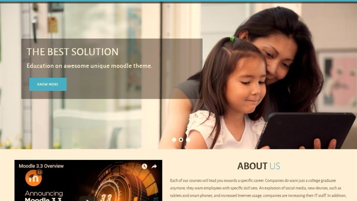 Try The 'Enlightlite' Theme For Moodle For A Different Spice