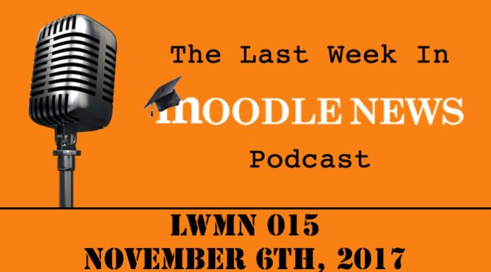 The last week in moodlenews 06 NOV 17
