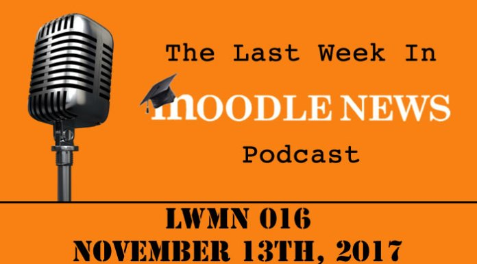 The last week in moodlenews 13 NOV 17