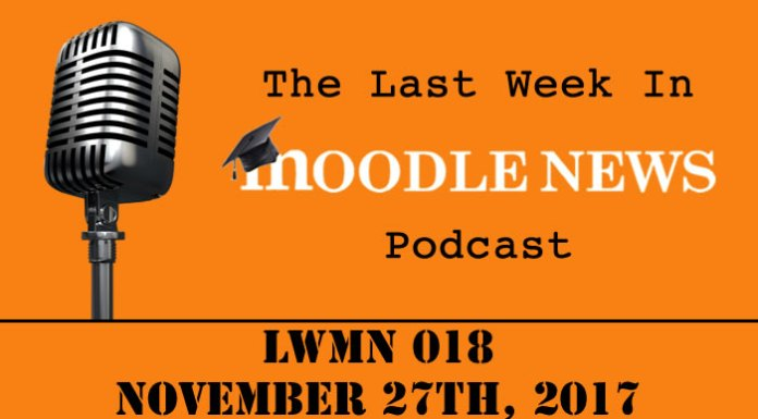 The last week in moodlenews 27 NOV 17