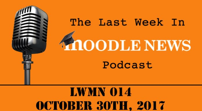The last week in moodlenews 30 OCT 17