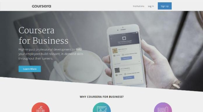 Will Coursera For Business Shake Up Online Corporate Training?