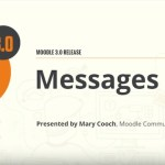 delete messages moodle 3.0