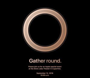 Apple event poster
