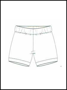 Short de pyjama Banna