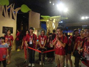 「青年踏尋孔子行腳」活動 兩岸四地大學生參訪佛館-人間通訊社