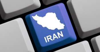 iran keyboard button