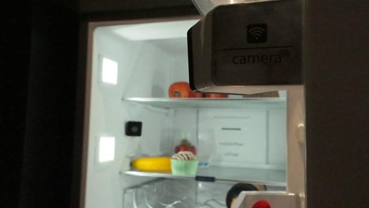 המצלמה שבמקרר. home connect