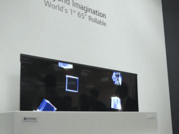 המסך הנגלל של LG