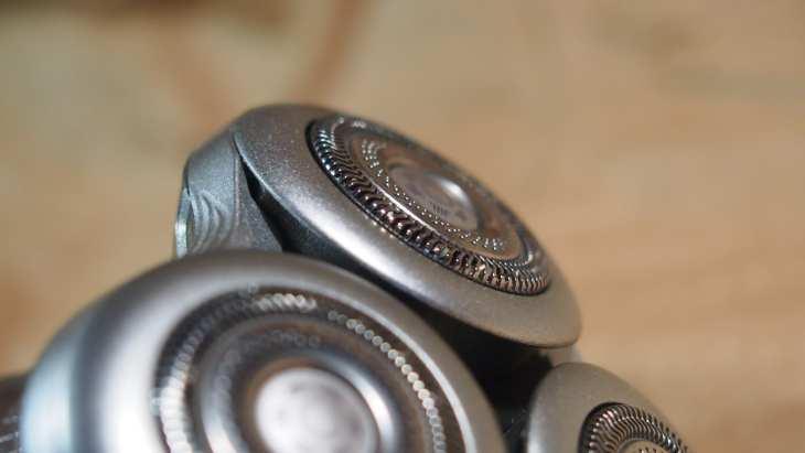 ראשי הגילוח בטכנולוגיית ננו של פיליפס 9000 פרסטיג'