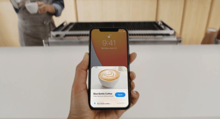 app clips presented at wwdc20