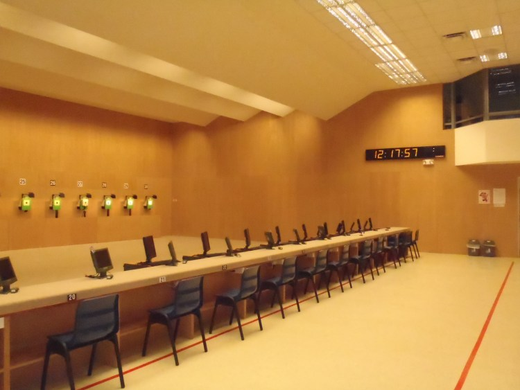 Air-Gun Range at Singapore Sports School (For 1ST Youth Olympic Game), Singapore