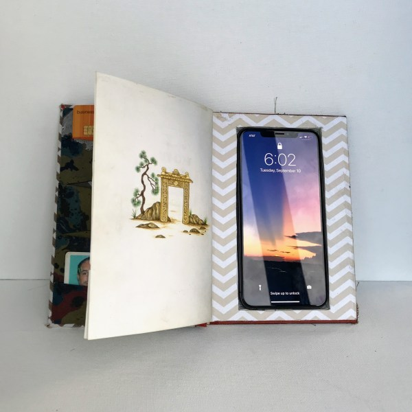 Recycled Book iphone Case | www.loadedbrushpdx.com