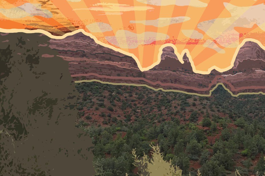 Awesome edit of one of our Sedona pictures