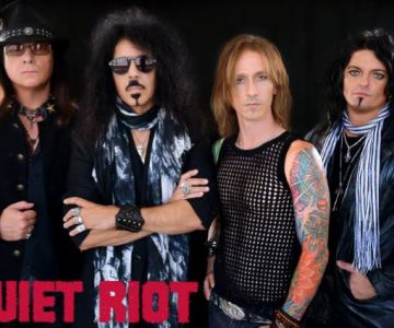 Quiet Riot announce new singer Seann Nicols…