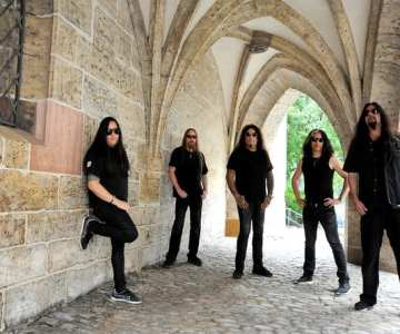 """TESTAMENT release 360º visualizer for new song """"Stronghold""""…"""