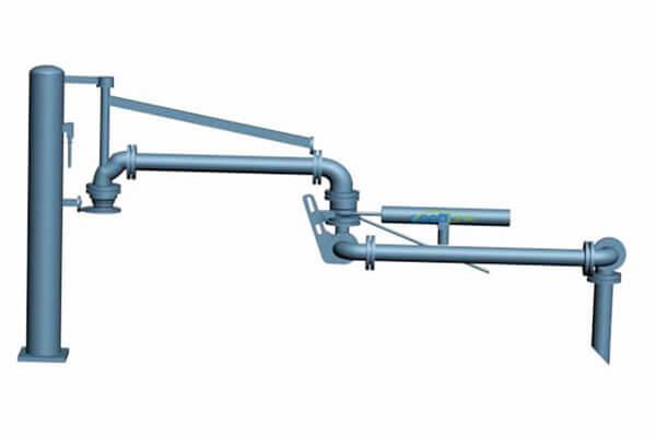 AL1402 top loading arm PTFE 1