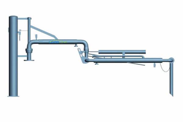 AL1402 top loading arm heat tracing 1