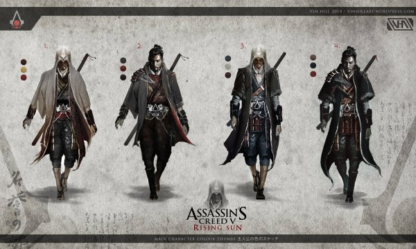 "Here's how ""Assassin's Creed V: Rising Sun"" could look ..."