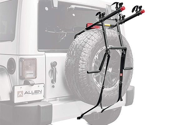 best spare tire mounted bike rack