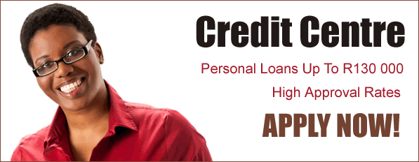 Credit Centre Personal Loan up to R130 000
