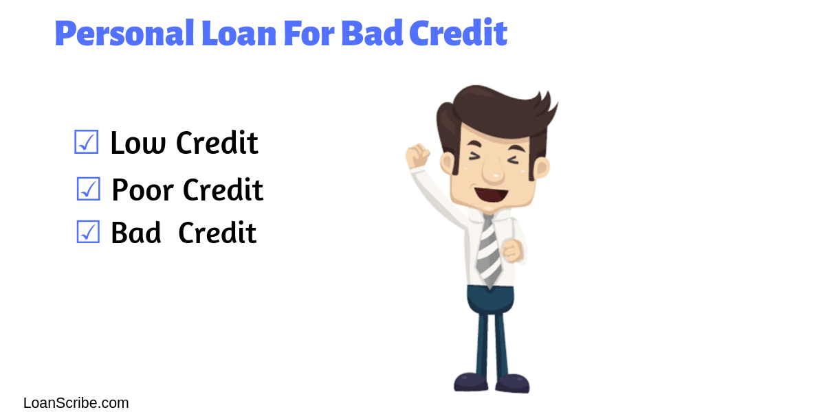 How to get personal loan with poor credit