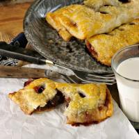 Cherry Hand Pies @loavesanddishes.net