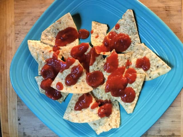 chips and pizza sauce