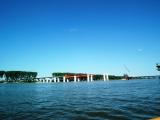 Kineski most - Dunav -Most Borča Zemun - avgust 2013
