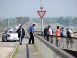 lažna bomba na Pančevačkom mostu