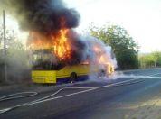 Čak devet izgorelih gradskih autobusa u poslednjih 6 meseci - 2014