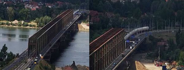 Nova kamera koja prati stanje na Pančevačkom mostu-2015