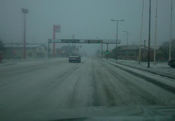 Zrenjaninski put pod snegom, LOBI
