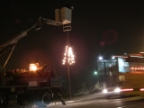 Novogodišnje osvetljenje u Borči