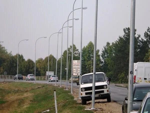 Zrenjaninski put Ulicna rasveta