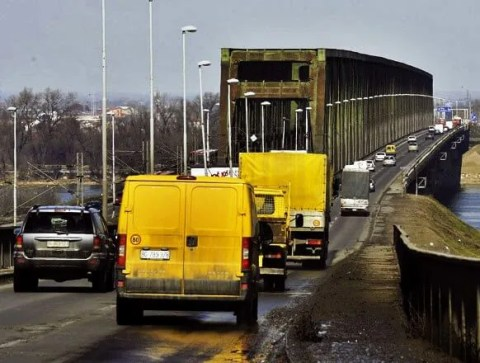Radovi na Pančevačkom mostu