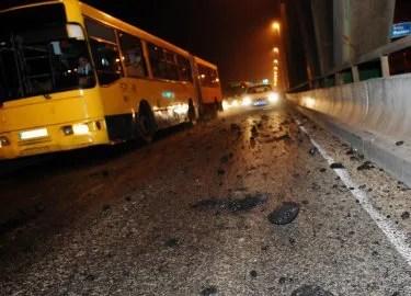 U sudaru na Pančevačkom mostu povređene dve osobe - 26.06.2013