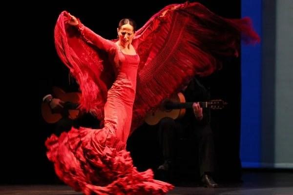 Kraljica flamenka plesačica Mersedes Ruis u UK Palilula