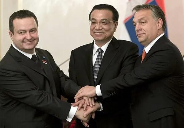 Kineski premijer otvara novi most Borča - Zemun - 28.11.2013.