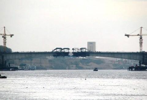 Kineski most pregazio Dunav i skoro spojio Borču i Zemun - 24.11.2013