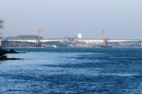Kineski most još nije spojio Borču i Zemun - 14.01.2014