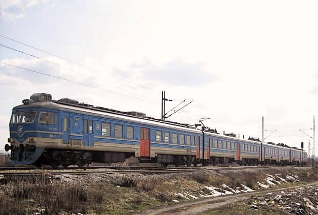 Voz na pruzi Beograd Pančevo kod Krnjače