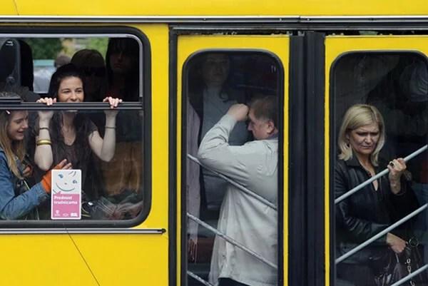 Gužva u autobusu