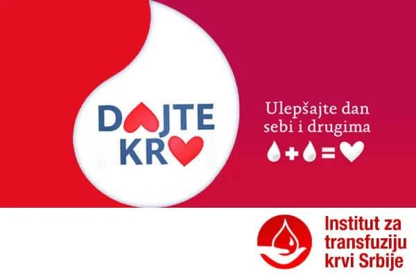 Institut za transfuziju krvi Srbije - 2014