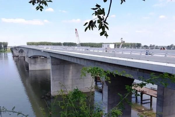 Otvaranje mosta Zemun - Borča dve nedelje pre roka - 2014