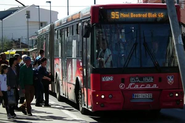 Potvrđeno! 95-ica najopterećenija linija u Beogradu - 2015